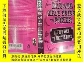 二手書博民逛書店The罕見Badass Girl s Guide to Poke