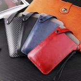 頸繩手機袋 手機包 手機保護帶 掛繩 皮質 手機保護套 可掛腰