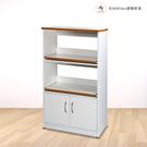 【米朵Miduo】2.2尺塑鋼電器櫃 塑鋼櫥櫃 防水塑鋼家具(附插座)