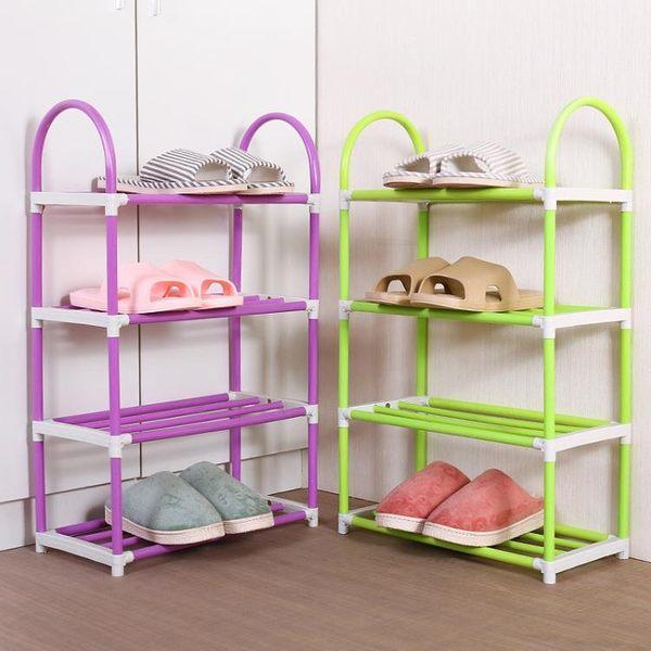 鞋架—簡易組裝鞋架多層鞋子收納架家用DIY塑料置物架鞋架子鞋櫃經濟型 依夏嚴選