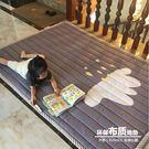 四季加厚寶寶爬行墊防滑兒童地墊遊戲毯折疊榻榻米布質嬰兒爬爬墊