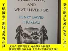 二手書博民逛書店Where罕見I Lived, And What I Lived For(英文原版)Y24355 Henry