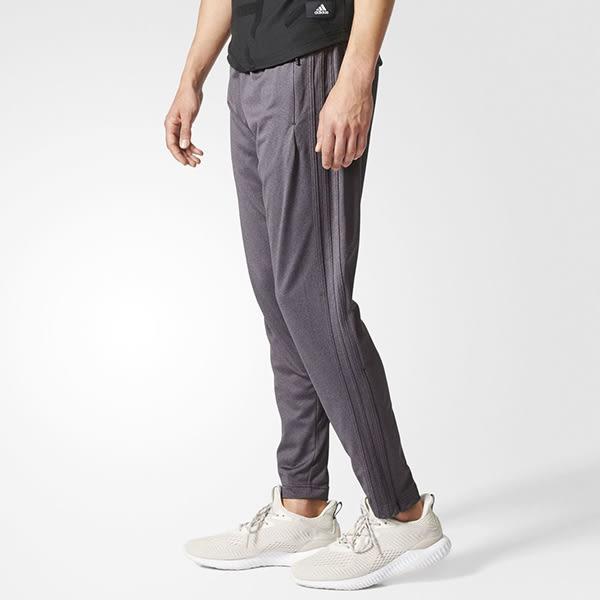 Adidas ID TIRO FUERTE 男 灰 經典足球運動褲 針織透氣 縮口 長褲 上寬下窄 錐形 休閒褲 BP6635