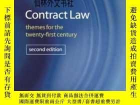 二手書博民逛書店【罕見】 2006年出版 Contract Law: Theme