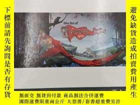 二手書博民逛書店the罕見art of the banner saga 旗幟傳奇
