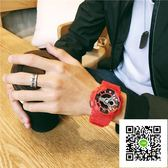 手錶 手錶男學生韓版簡約抖音潮流休閒防水運動電子表 歐歐流行館