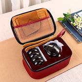 陶瓷 功夫茶具整套戶外便攜茶具 旅行包套裝 辦公一壺二杯快客杯【跨店滿減】