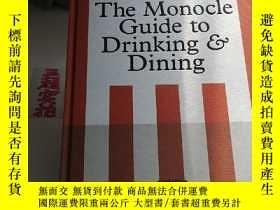 二手書博民逛書店The罕見Monocle Guide to Drinking and DiningY330094 Gestal
