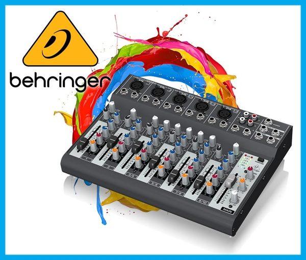 【小麥老師樂器館】Behringer 耳朵牌 10軌 混音器 XENYX 1002B 效果器