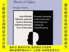 二手書博民逛書店A罕見Pragmatic Theory Of FallacyY256260 Walton, Mr Dougla