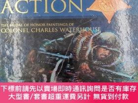二手書博民逛書店Valor罕見in Action: The Medal of Honor Paintings of Col. Ch