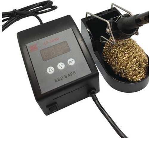 「賽威樂XYTRONIC 防靜電數位顯示可調溫控烙鐵 LF-399D AC110V 80W」的圖片搜尋結果