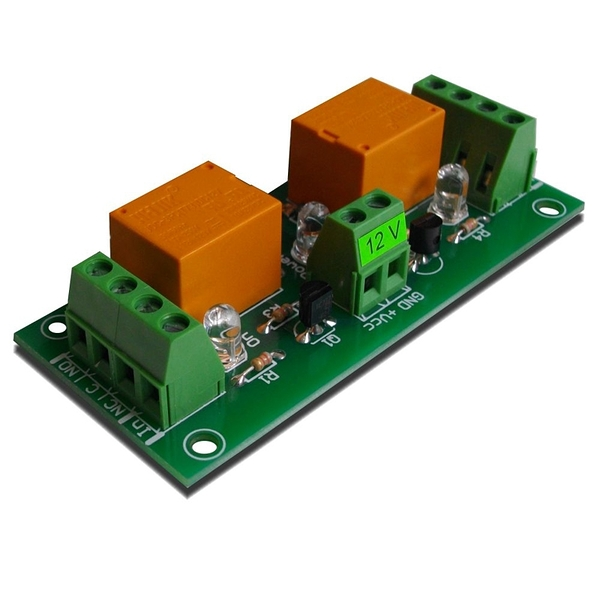 [9美國直購] 2 Channel relay board your Arduino or Raspberry PI 12V DAE-RB/Ro2