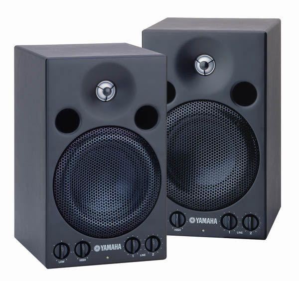 【金聲樂器廣場】YAMAHA 專業監聽喇叭 MSP3 一對 超值價!