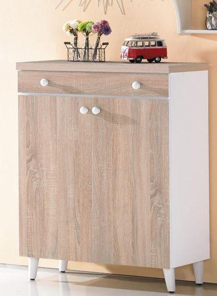【森可家居】小北歐3尺鞋櫃 7JX268-2 木紋質感 日系無印 北歐鄉村風