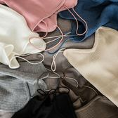 桃園百貨 夏季針織吊帶背心女短款打底衫大碼