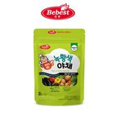 韓國 Bebest 貝思 寶寶蔬菜泥(黃綠蔬菜)(四個月以上適用)