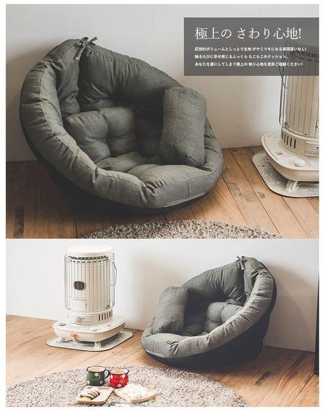 懶骨頭 沙發 和室椅 【收納屋】多功能日式懶骨頭-灰色& DIY組合傢俱