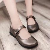日系娃娃鞋lolita女仆鞋尖頭洛麗塔cos JK制服大碼學生蘿莉皮鞋    初語生活