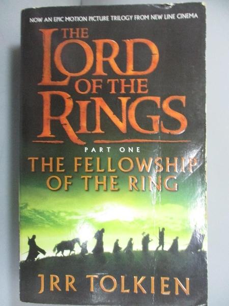 【書寶二手書T1/原文小說_IDF】The Lord of The Rings:The Fellowship of the Ring_JRR TOLKIEN
