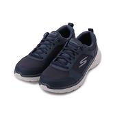 SKECHERS 健走系列 GOWALK 6 綁帶運動鞋 藍 216203NVY 男鞋