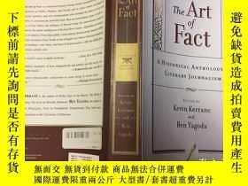 二手書博民逛書店The罕見Art Of Fact: A Historical A