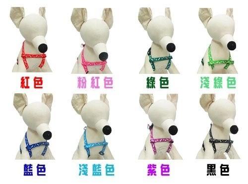【zoo寵物商城】dyy》骨頭圖騰小型犬用胸背牽繩組125cm (顏色隨機出貨)