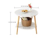 茶幾簡約現代迷你小圓桌邊幾沙發邊櫃角幾床頭桌子簡易北歐ins風YXS 潮流前線