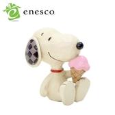 【正版授權】Enesco 史努比 冰淇淋 塑像 公仔 精品雕塑 Snoopy PEANUTS - 219186