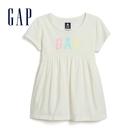 Gap 女幼童 Logo棉質短袖上衣 5...