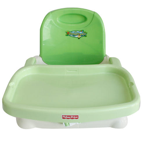 美國【 Fisher Price】費雪 熱帶雨林 可攜式活動餐椅