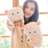 手套 羊駝卡通翻蓋韓國學生可愛保暖加絨加厚 Ifashion