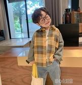 男童牛仔外套洋氣春秋季寶寶長袖中小童夾克童裝兒童韓版襯衫上衣