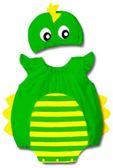 貝比幸福小舖【01699-A】歐美百搭可愛卡通造型無袖包屁衣+帽子大集合-28小恐龍