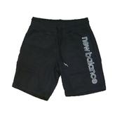 New Balance  男款運動短褲 黑 -NO.AMS91519BK