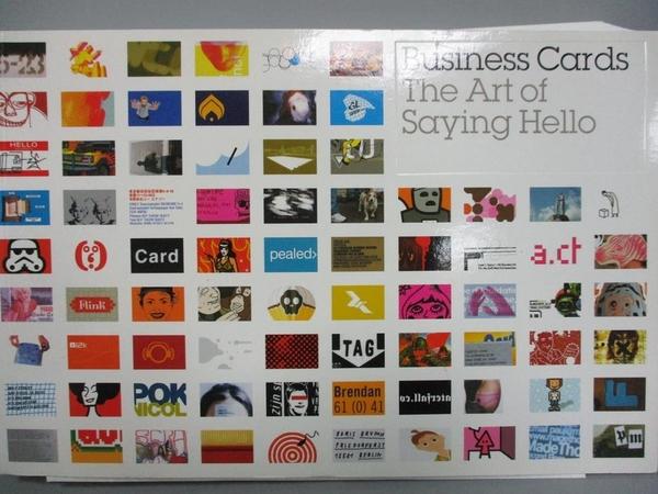 【書寶二手書T5/廣告_WDT】Business cards : the art of saying hello_Dorrian, Michael/ Farrelly, Liz