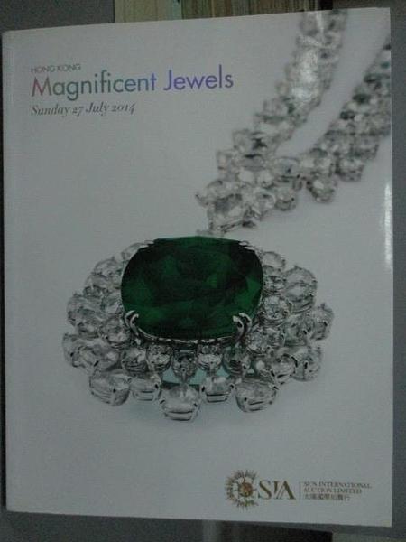 【書寶二手書T5/收藏_ZCV】SIA_Magnificent Jewels_2014/7/27