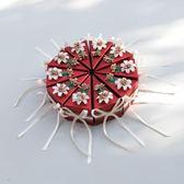 春季上新 婚禮喜糖盒子歐式創意三角蛋糕盒個性禮品盒子伴手禮成品含糖紙盒