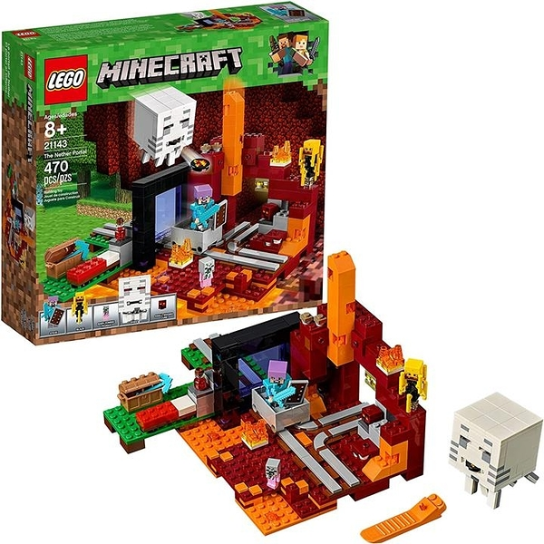 LEGO 樂高 Minecraft虛空傳送門21143 (470件)