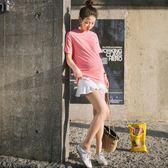 YAHOO618◮優密兒孕婦裝夏季孕婦荷葉邊短褲薄款時尚孕婦短褲外穿時尚 韓趣優品☌