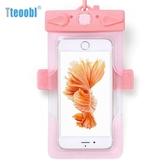 蘋果7plus手機防水袋潛水套游泳漂流包蘋果觸屏通用沙灘【萬聖夜來臨】