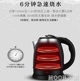 110V熱水壺旅行燒水壺家用出口美國日本小型不銹鋼電茶壺 現貨快出