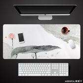 桌墊 辦公室桌墊 ins創意文藝小清新超大號加長款筆記本電腦鍵盤鼠標墊 YXS 美斯特精品