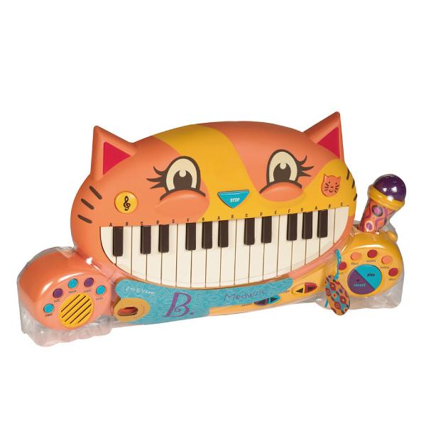 美國 B.TOYS 大嘴貓鋼琴