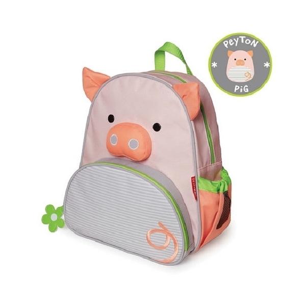 美國SKIP HOP 動物園系列兒童背包(小豬)