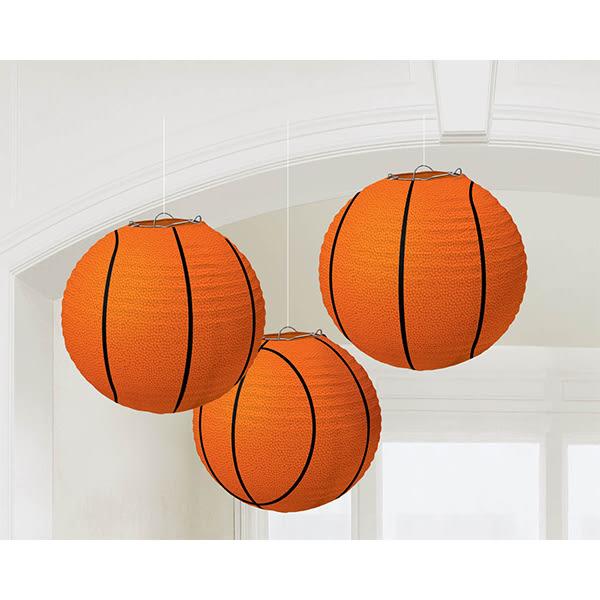 圓形燈籠3入-籃球