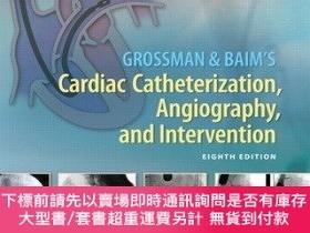 二手書博民逛書店Grossman罕見& Baim s Cardiac Catheterization, Angiography,