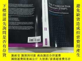 二手書博民逛書店2016罕見Financial Risk Manager (FRM)Exam Part2 2016年財務風險經理考