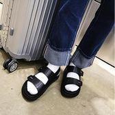 找到自己品牌 男 時尚 潮 休閒 魔術貼 羅馬 涼鞋 海灘鞋