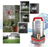 抽水機 直流潛水泵家用農用吸水直流泵抽水機小型電動電瓶車12v24V抽水泵  DF-可卡衣櫃